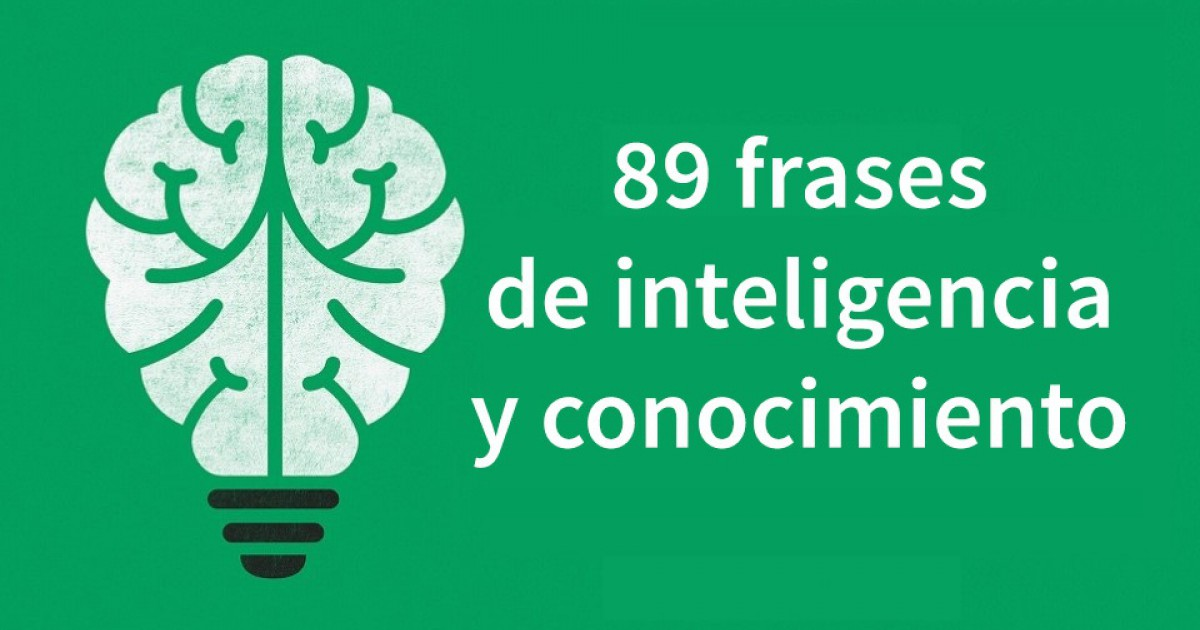 89 sentences about intelligence and knowledge