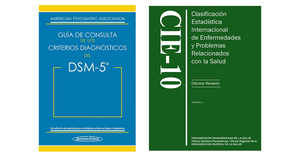 Differences between DSM-5 and CIE-10