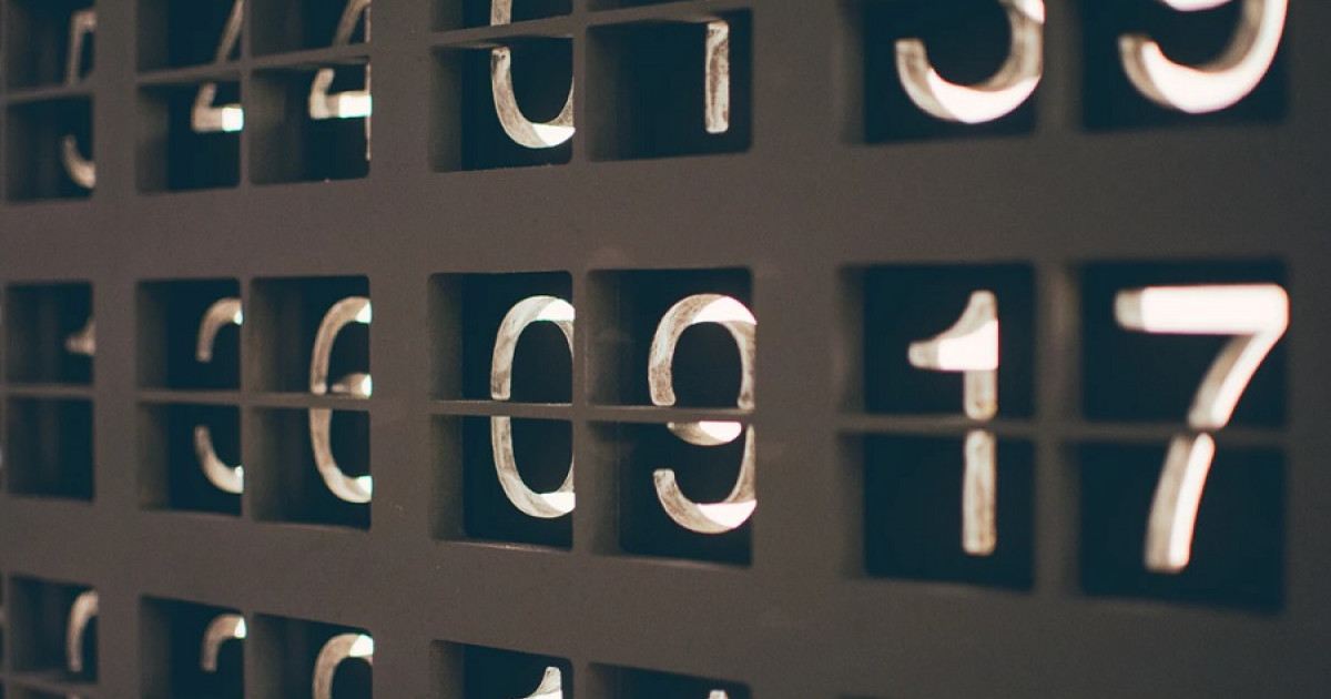 Is it okay to be obsessed with numbers?